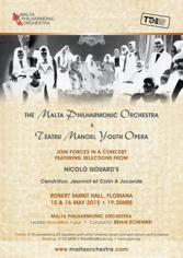 TM Youth Opera Isouard concert 15-16.05.2015