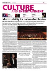 More visibility for national orchestra STOM 19.04.2015