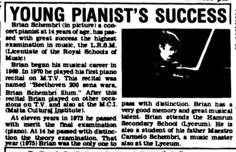 Young pianist's success TOM 26.04.1976